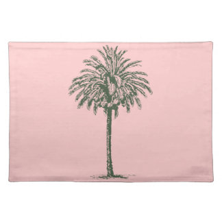 Green Palm Tree Placemat
