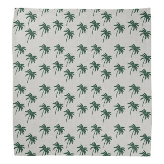 Green Palm Trees Bandana