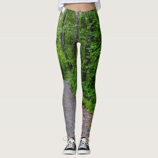 Green Paradise Leggings