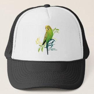 Green Parakeet Trucker Hat