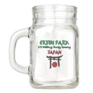 Green Park  Japan Mason Jar