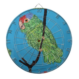 green parrot dartboard