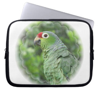 Green Parrot  Electronics Bag Computer Sleeves