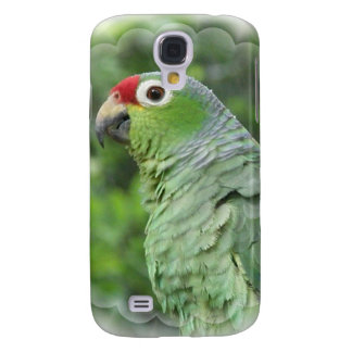 Green Parrot iPhone 3G Case Samsung Galaxy S4 Cover