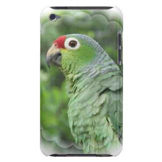 Green Parrot  iTouch Case Barely There iPod Covers