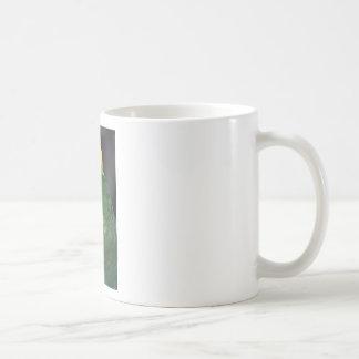 green parrot kid friendly coffee mug