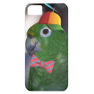 green parrot kid friendly iPhone SE/5/5s case