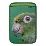 Green Parrot MacBook Air Sleeve