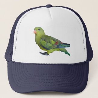 Green Parrot Trucker Hat