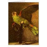 Green Parrot, Vincent van Gogh, Vintage Still Life Cards