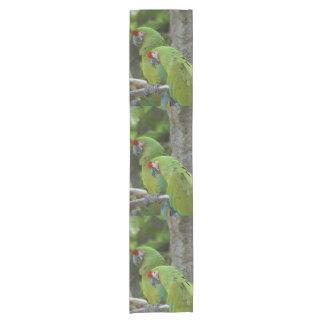 Green Parrots Camino De Mesa Corto
