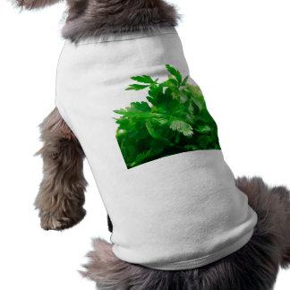 Green Parsley Dog T-Shirt