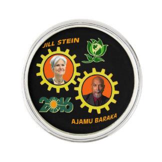 Green Party 2016 Pin