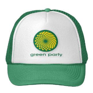 GREEN PARTY TRUCKER HAT