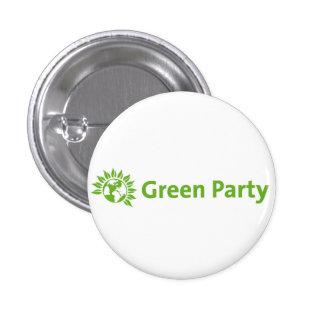 Green Party Logo Pinback Button