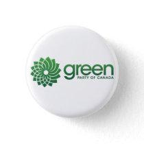 Green Party of Canada Logo Pinback Button