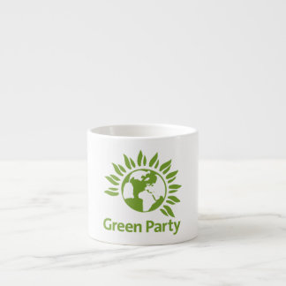 Green Party of England and Wales Espresso Cup
