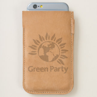 Green Party of England and Wales iPhone 6/6S Case