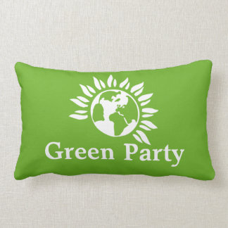 Green Party of England and Wales Lumbar Pillow