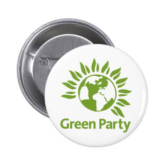 Green Party of England and Wales Pinback Button