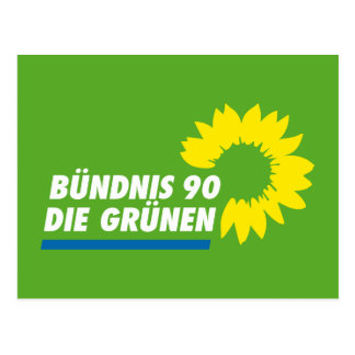 Green Party of Germany Postcard