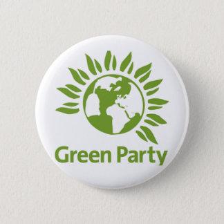 Green Party Pin