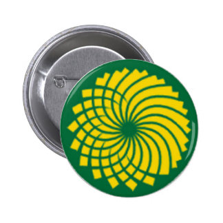 GREEN PARTY PINBACK BUTTON