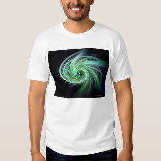 Green Passion Flower T-Shirt