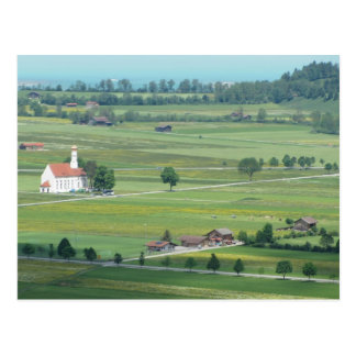 Green Pastures of Germany Postcard