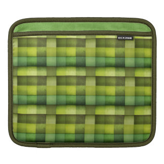 Green patches sleeves for iPads