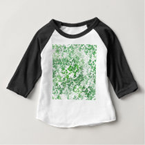 green pattern baby T-Shirt