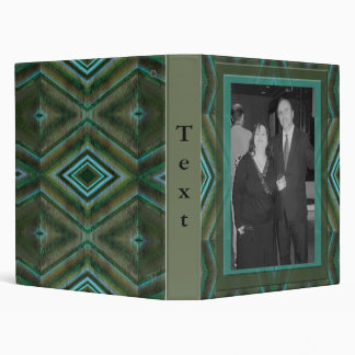 green pattern binder