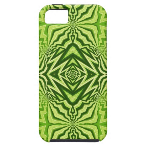 green pattern iPhone 5 cases