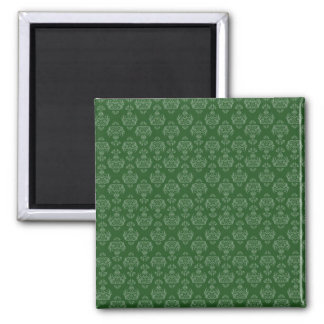 Green Pattern Magnet