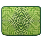 green pattern sleeves for MacBooks