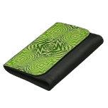 green pattern wallets