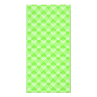 Green Patterned. Photo Greeting Card
