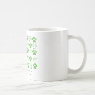 Green Paw by Paw Airedale Terrier Coffee Mug