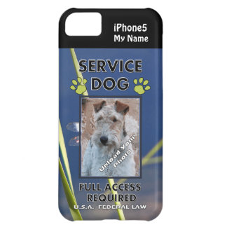 Green Paws Service Dog iPhone5 Cover Case For iPhone 5C