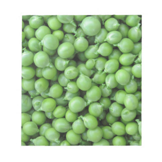 Green pea background . Texture of ripe green peas Notepad