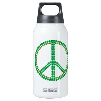 Green Peace 10 Oz Insulated SIGG Thermos Water Bottle