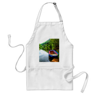 Green Peace and joy munster germany forest Adult Apron
