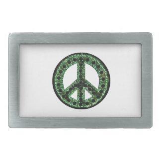 Green Peace Belt Buckle