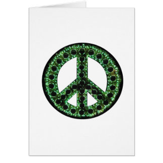 green peace card
