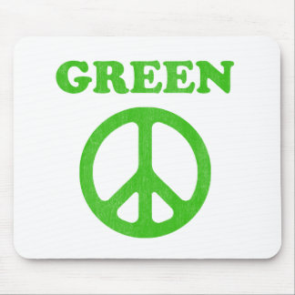 Green Peace (Earth Day) Mousepad