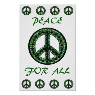 green peace for all poster