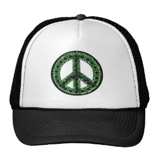 green peace hat