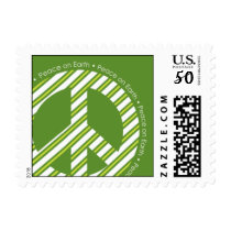 Green Peace on Earth Postage