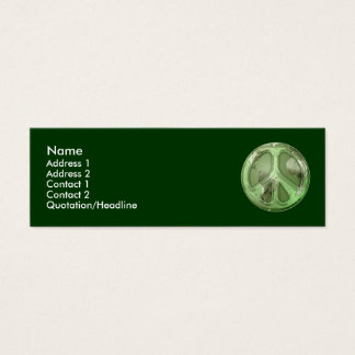 Green Peace on Earth Profile Card