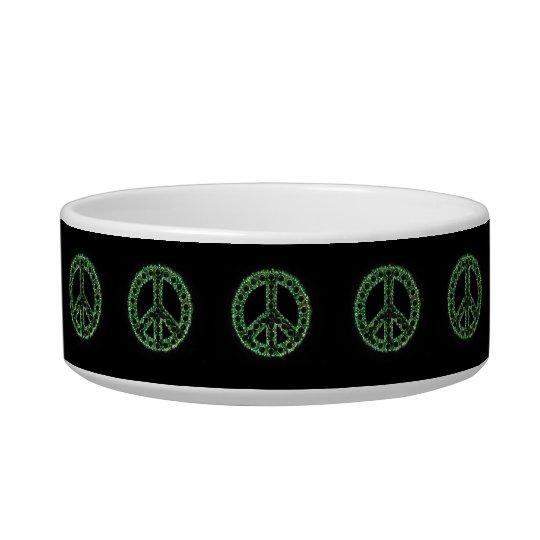 Green Peace Pet Bowl